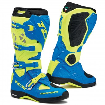 Stivali Cross TCX Comp Evo Michelin Royal Blue Yellow