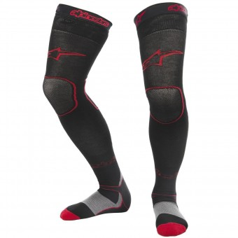 Calzini Cross Alpinestars Long Mx Socks Black Red