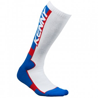 Calzini Cross Kenny MX Tech Blue White Red