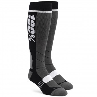 Calzini Cross 100% Socks Hi Side Grey Black