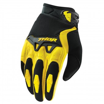 Guanti Cross Thor Spectrum Giallo Kid