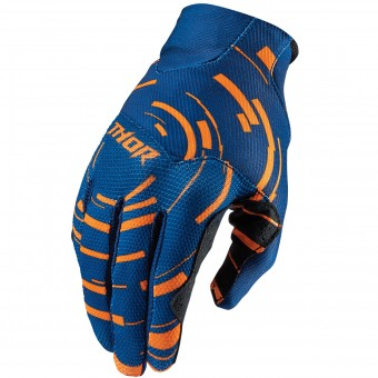 Guanti Cross Thor Void Plus Circulus Flo Orange Bambino
