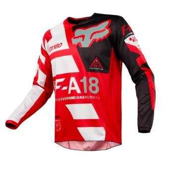 Maglia Cross FOX 180 Sayak Red 003