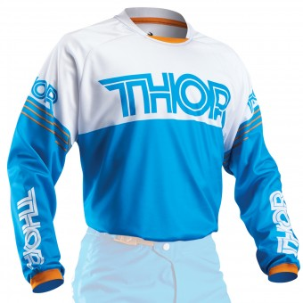 Maglia Cross Thor Phase Hyperion Blu Bambino