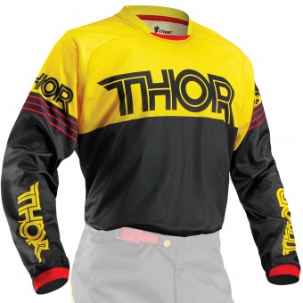 Maglia Cross Thor Phase Hyperion Yellow Bambino
