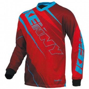 Maglia Cross Kenny Track Red Blue