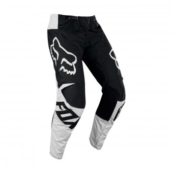Pantalone Cross FOX 180 Race Black White Pant 001