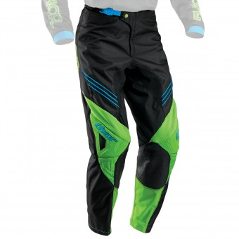 Pantalone Cross Thor Phase Hyperion Black Green Pant