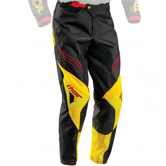 Pantalone Cross Thor Phase Hyperion Black Yellow Pant
