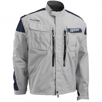Giacca Cross Thor Phase Jacket Cement Navy