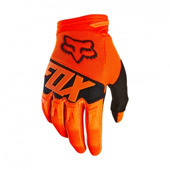 Guanti Cross FOX Dirtpaw Race Orange Black 009
