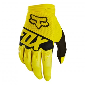 Guanti Cross FOX Dirtpaw Race Yellow Black 005