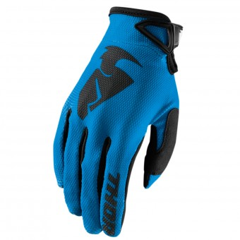 Guanti Cross Thor Sector Glove Blue Bambino