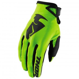 Guanti Cross Thor Sector Glove Lime Bambino