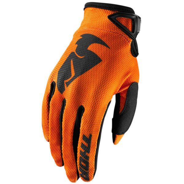 Guanti Cross Thor Sector Glove Orange Bambino