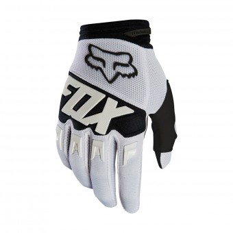 Guanti Cross FOX Dirtpaw Race Bianco (008)