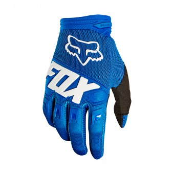 Guanti Cross FOX Dirtpaw Race Blu Bambino