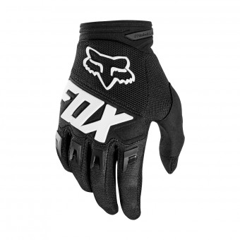 Guanti Cross FOX Dirtpaw Race Nero Bambino