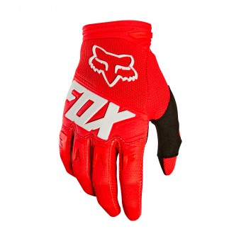 Guanti Cross FOX Dirtpaw Race Rosso (003)