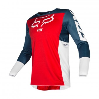Maglia Cross FOX 180 Przm Navy Red