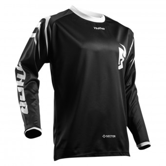 Maglia Cross Thor Sector Zones Black