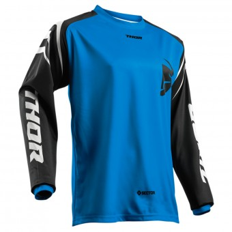 Maglia Cross Thor Sector Zones Blue
