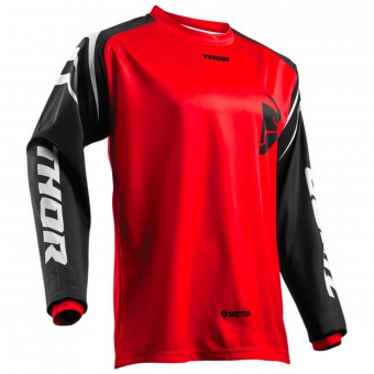 Maglia Cross Thor Sector Zones Red