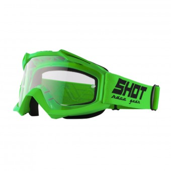 Maschera Cross SHOT Assault Neon Green