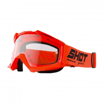 Maschera Cross SHOT Assault Neon Orange