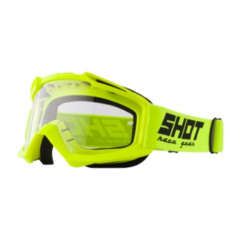 Maschera Cross SHOT Assault Neon Yellow