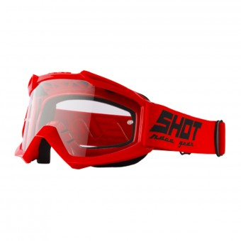 Maschera Cross SHOT Assault Red