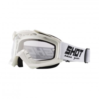 Maschera Cross SHOT Assault White