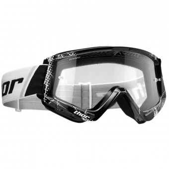 Maschera Cross Thor Combat Black White