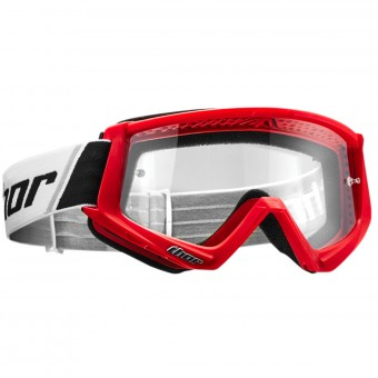 Maschera Cross Thor Combat Red Black