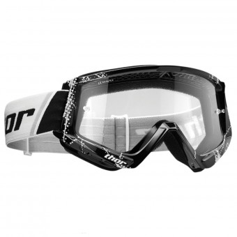 Maschera Cross Thor Combat Web Black White