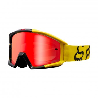 Maschera Cross FOX Main Master Yellow 005