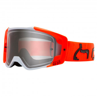 Maschera Cross FOX Vue Dusc Fluo Orange Clear Lens
