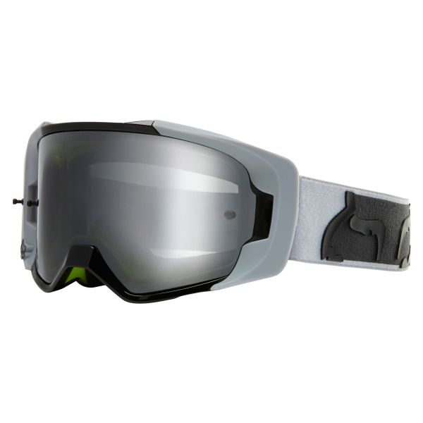 Maschera Cross FOX Vue Dusc Light Grey Chrome Mirror Lens