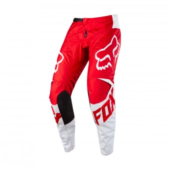 Pantalone Cross FOX 180 Race Red White Pant 002