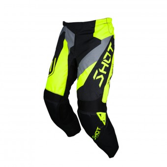 Pantalone Cross SHOT Devo Alert Neon Yellow Pant