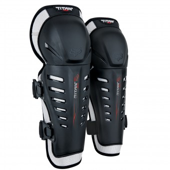 Ginocchiere Cross FOX Titan Race Knee Black
