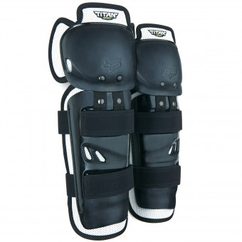 Ginocchiere Cross FOX Titan Sport Knee Black