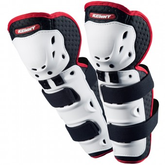 Ginocchiere Cross Kenny Knee Guards White