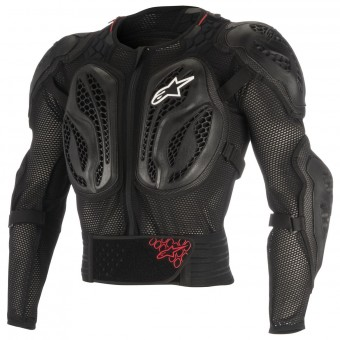 Pettorina Alpinestars Youth Bionic Action Black Red