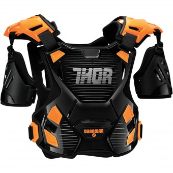 Pettorina Thor Guardian Black Orange Bambino