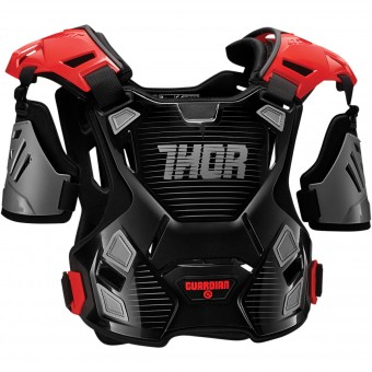 Pettorina Thor Guardian Black Red Bambino