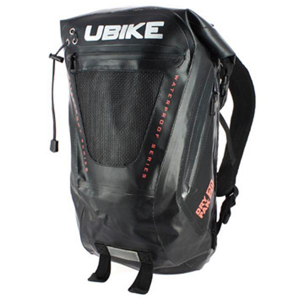 Zaino Moto UBIKE Easy Pack + 20L Black Black