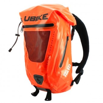 Zaino Moto UBIKE Easy Pack + 20L Orange