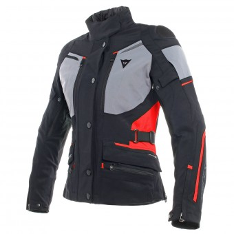 Giacche moto Dainese Carve Master 2 Lady Gore-Tex Black Frost Grey