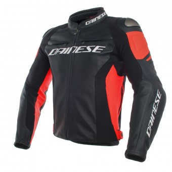 Giacche moto Dainese Racing 3 Black Red